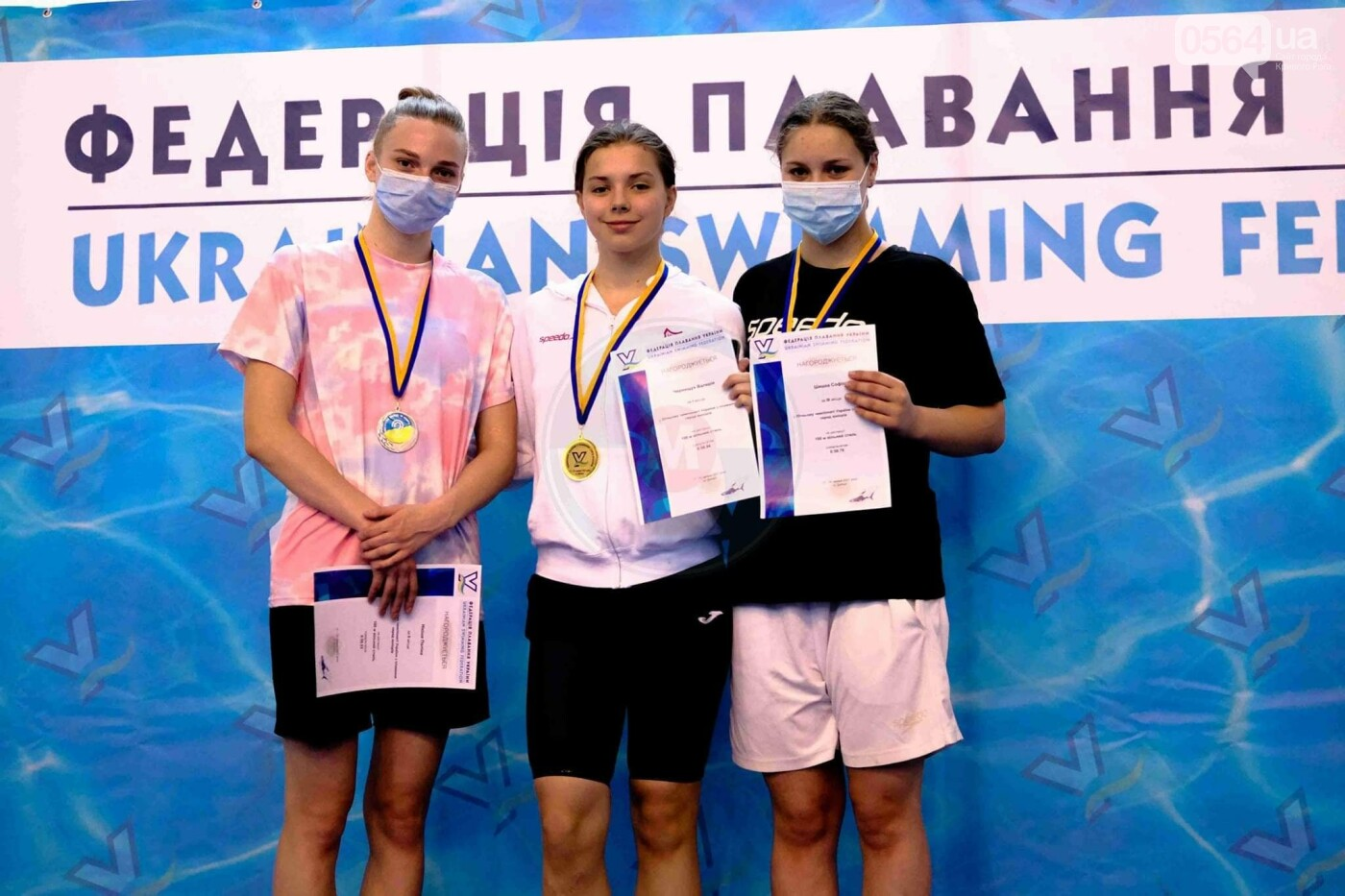 Криворожские пловцы завоевали медали на чемпионате Украины по плаванию, - ФОТО, фото-3