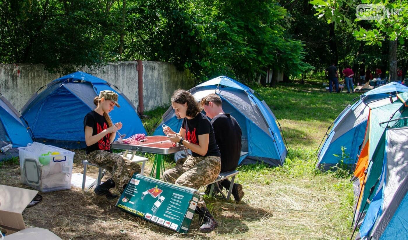 Криворожские школьники приняли участие в областном этапе военно-патриотической игры «Джура», - ФОТО, фото-6