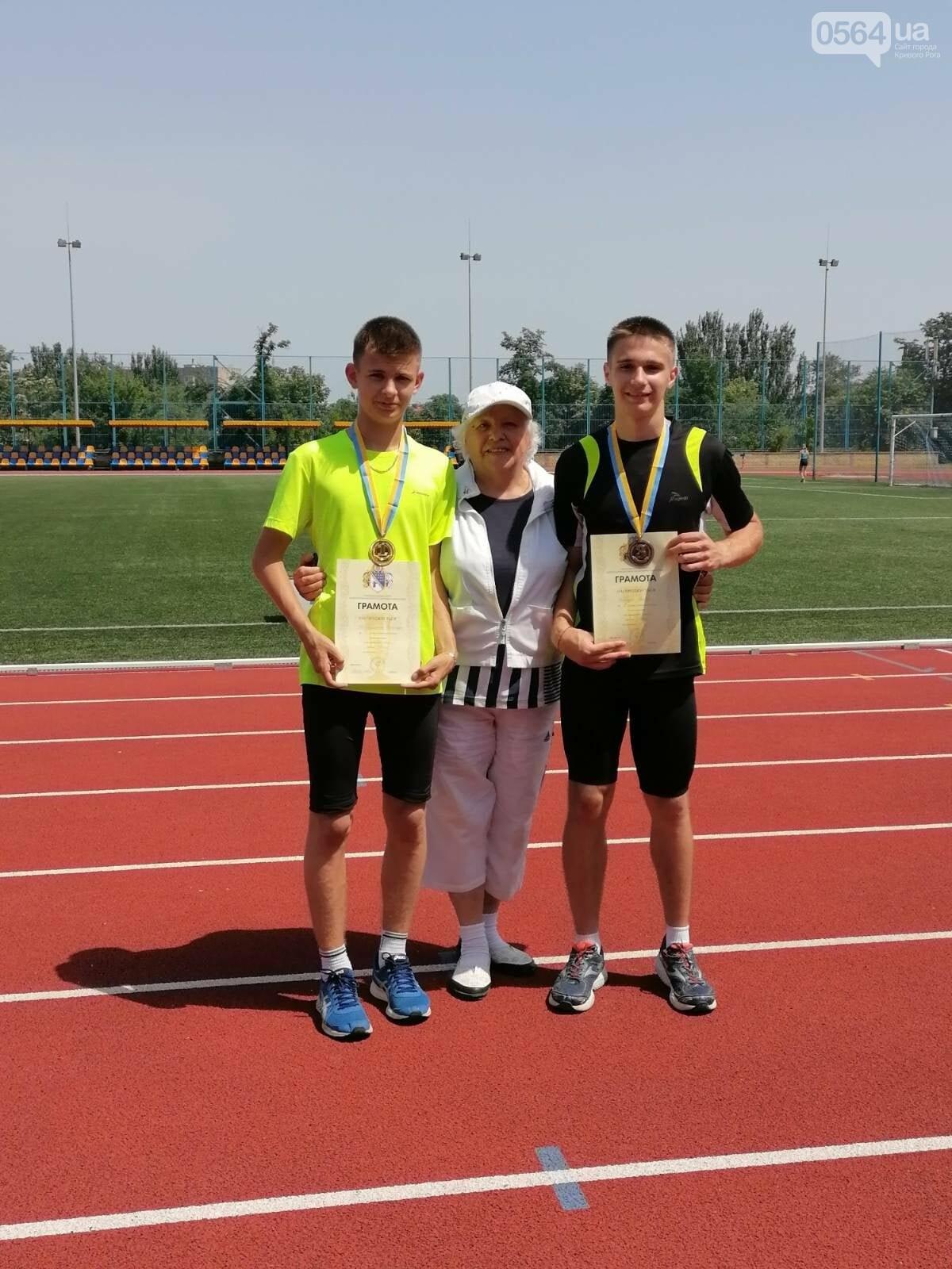 Криворожские легкоатлеты привезли медали с областного Чемпионата, - ФОТО , фото-2