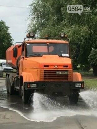 В Кривом Роге на Ингульце начали поливать автодороги, - ФОТО , фото-2