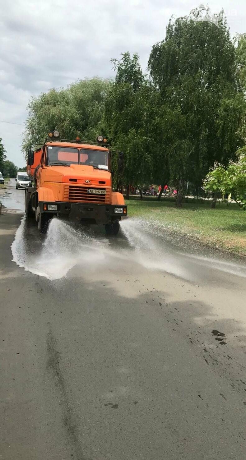 В Кривом Роге на Ингульце начали поливать автодороги, - ФОТО , фото-1