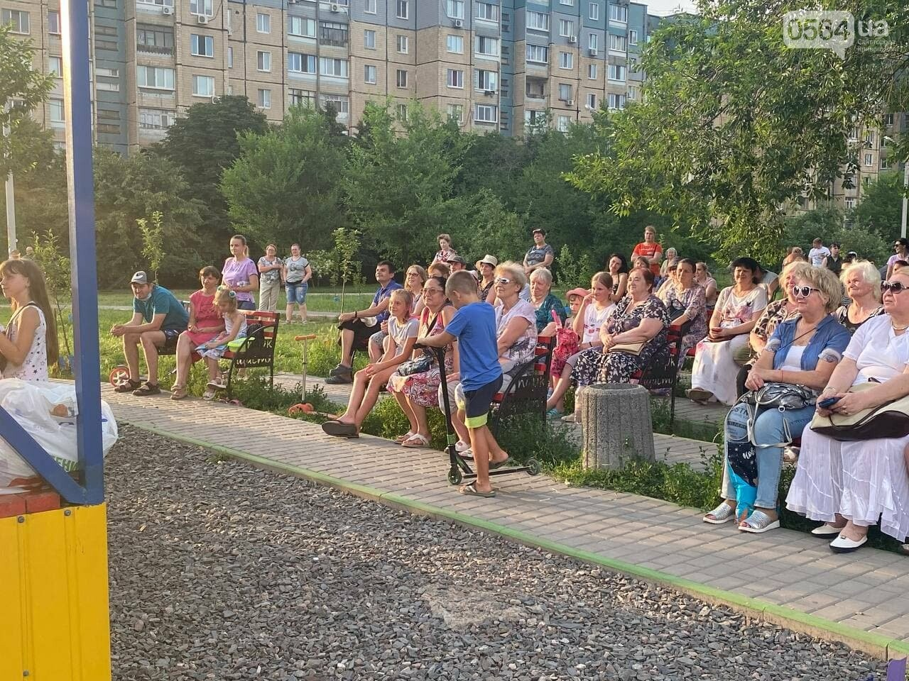 В парке Счастья криворожане слушали итальянские песни, - ФОТО, ВИДЕО , фото-9