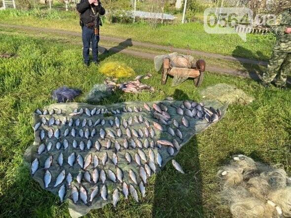 В течение нерестового запрета на Днепропетровщине изъято почти 2 тонны незаконной рыбы, - ФОТО, фото-7