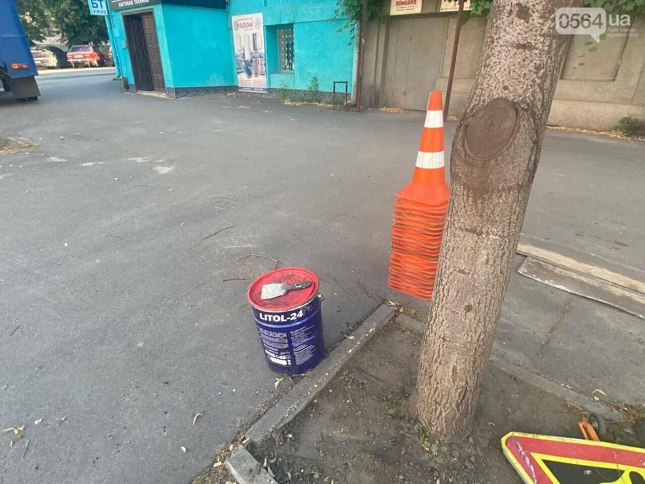 В Кривом Роге обновляют пешеходный переход, - ФОТО , фото-10