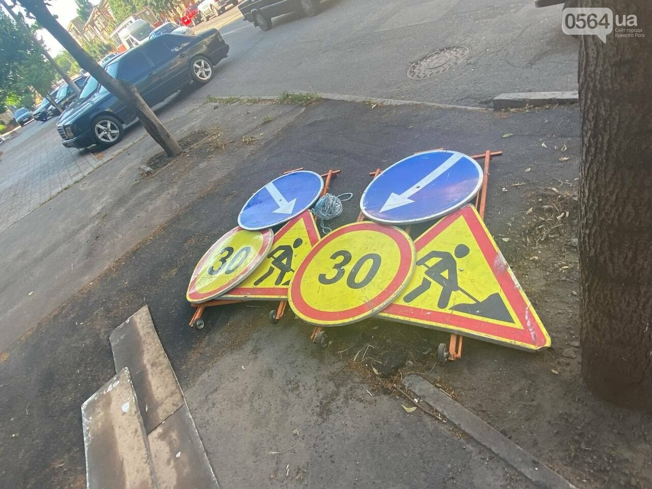 В Кривом Роге обновляют пешеходный переход, - ФОТО , фото-8