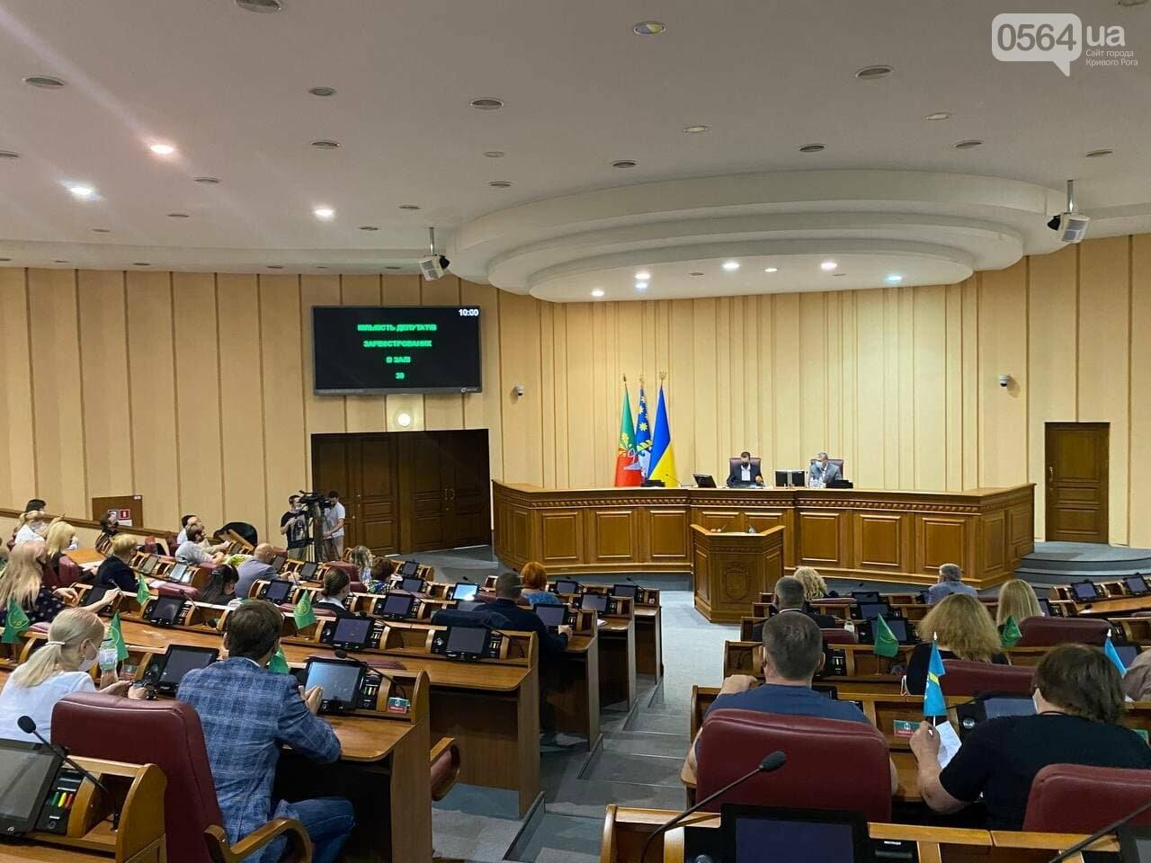 В Кривом Роге депутаты собрались на внеочередную сессию, - ФОТО, ВИДЕО , фото-8