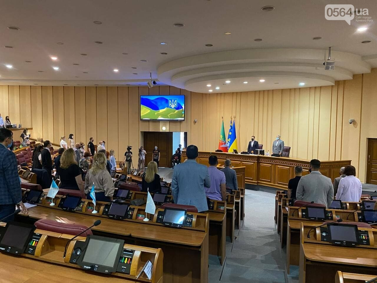 В Кривом Роге депутаты собрались на внеочередную сессию, - ФОТО, ВИДЕО , фото-5