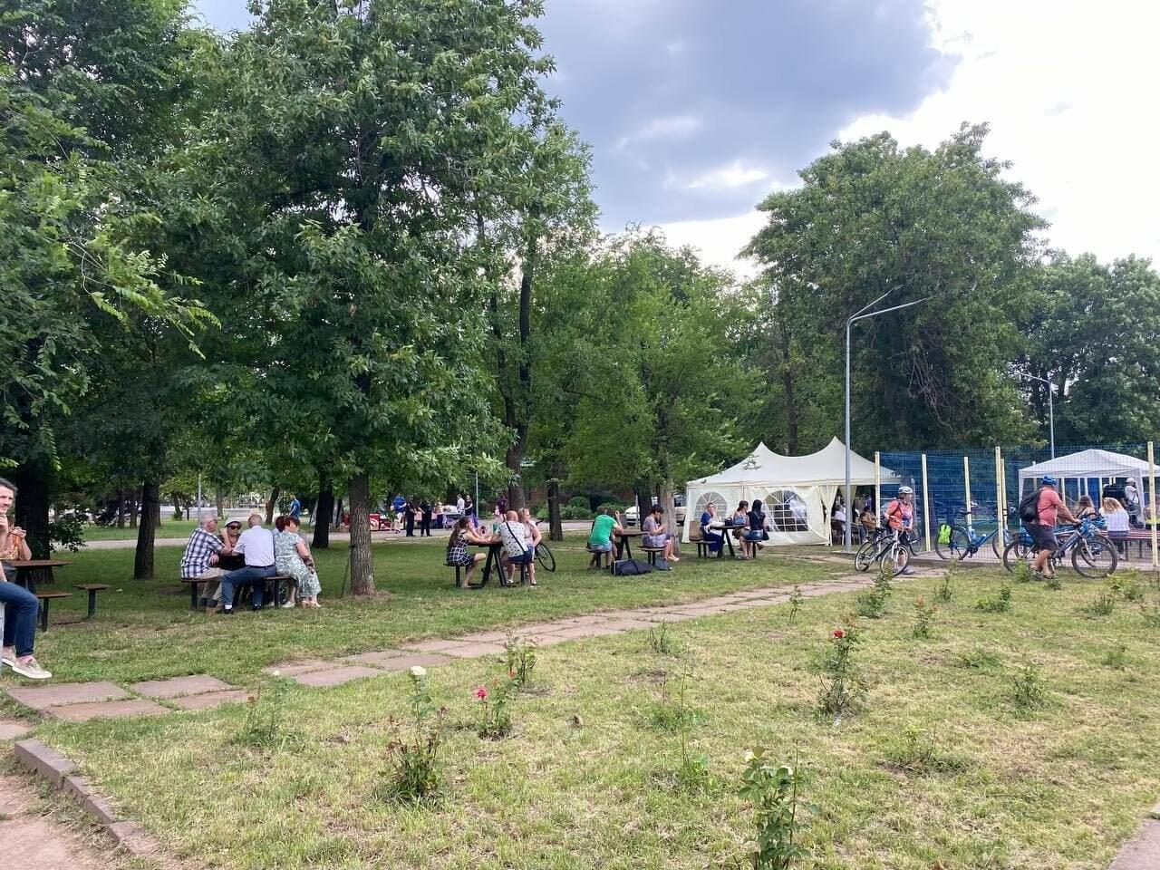 Криворожане наслаждались в парке классикой неаполитанской песни, - ФОТО, ВИДЕО , фото-24