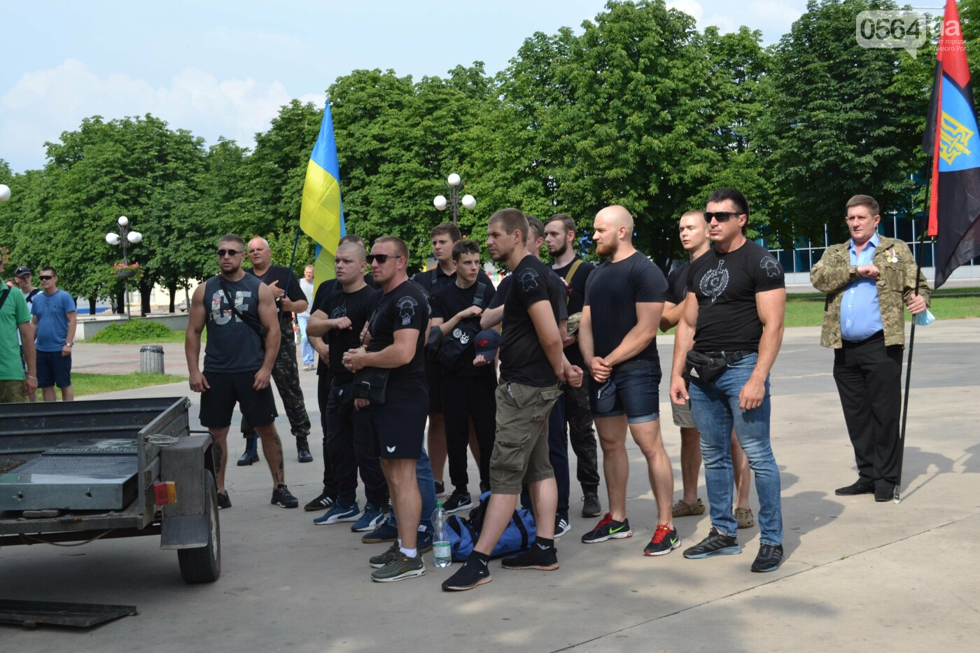 К 30-летию Независимости Украины в Кривом Роге установили мемориальную плиту в память о Корнее Речмидило, - ФОТО, ВИДЕО, фото-22