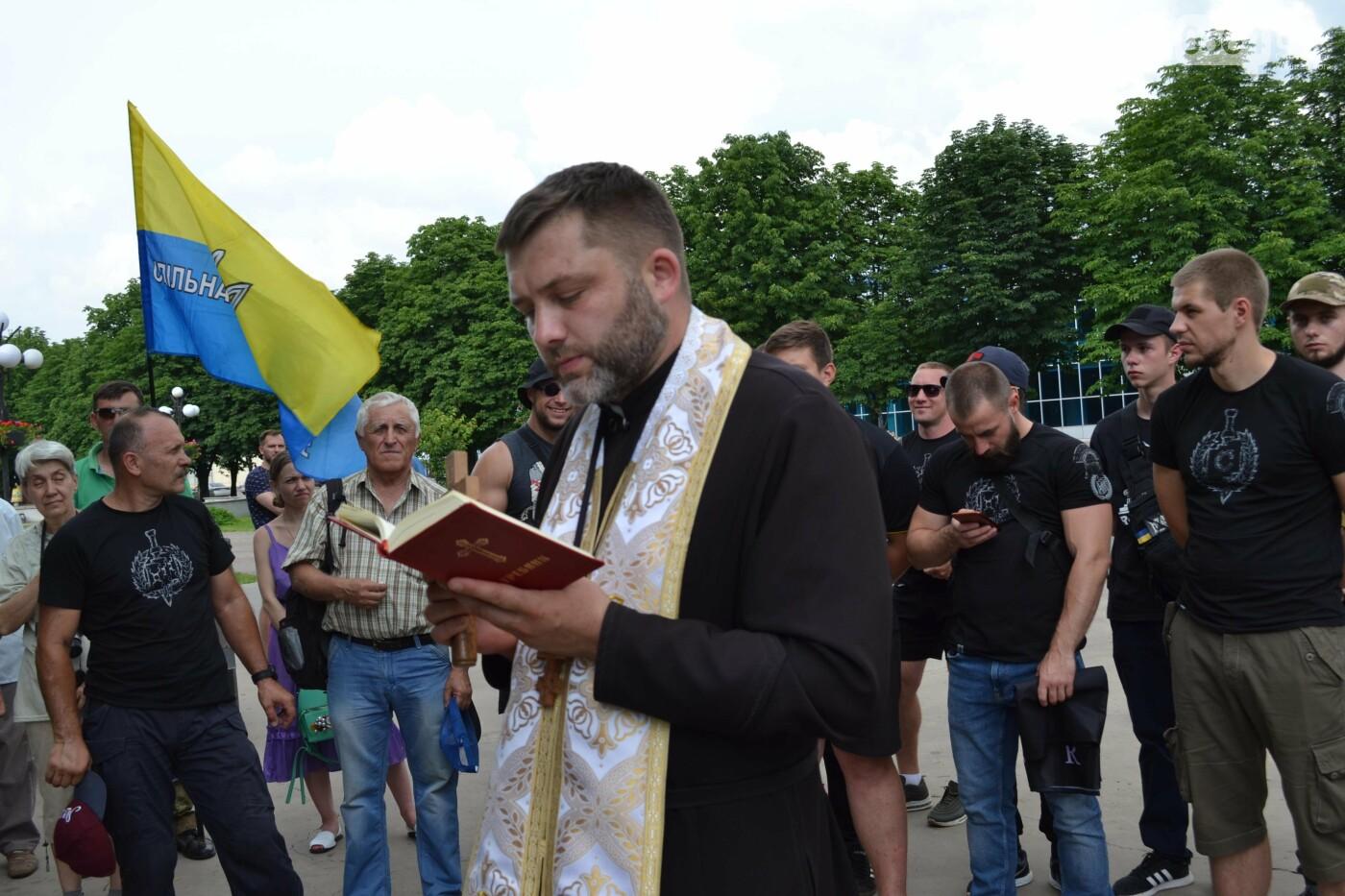 К 30-летию Независимости Украины в Кривом Роге установили мемориальную плиту в память о Корнее Речмидило, - ФОТО, ВИДЕО, фото-48