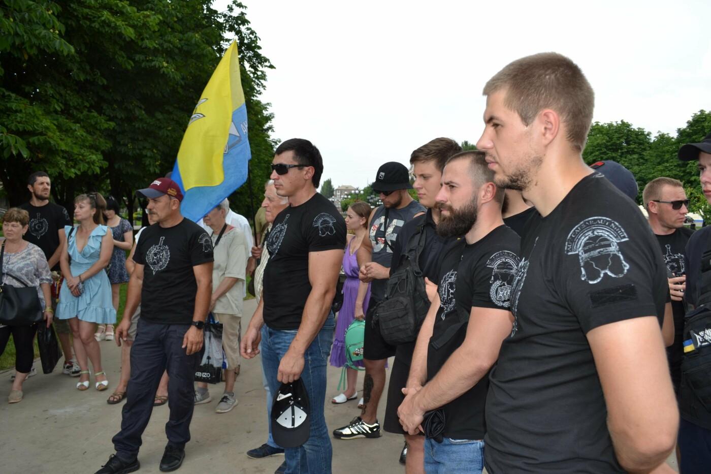 К 30-летию Независимости Украины в Кривом Роге установили мемориальную плиту в память о Корнее Речмидило, - ФОТО, ВИДЕО, фото-53