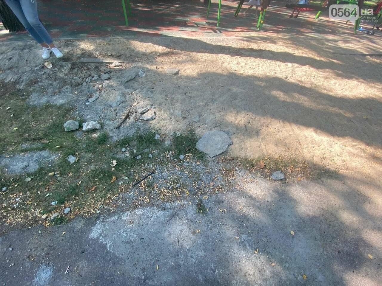 В Кривом Роге родители обсуждают безопасность новой детской площадки возле горисполкома, - ФОТО , фото-27