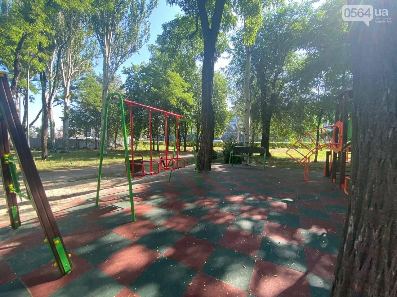 В Кривом Роге родители обсуждают безопасность новой детской площадки возле горисполкома, - ФОТО , фото-25