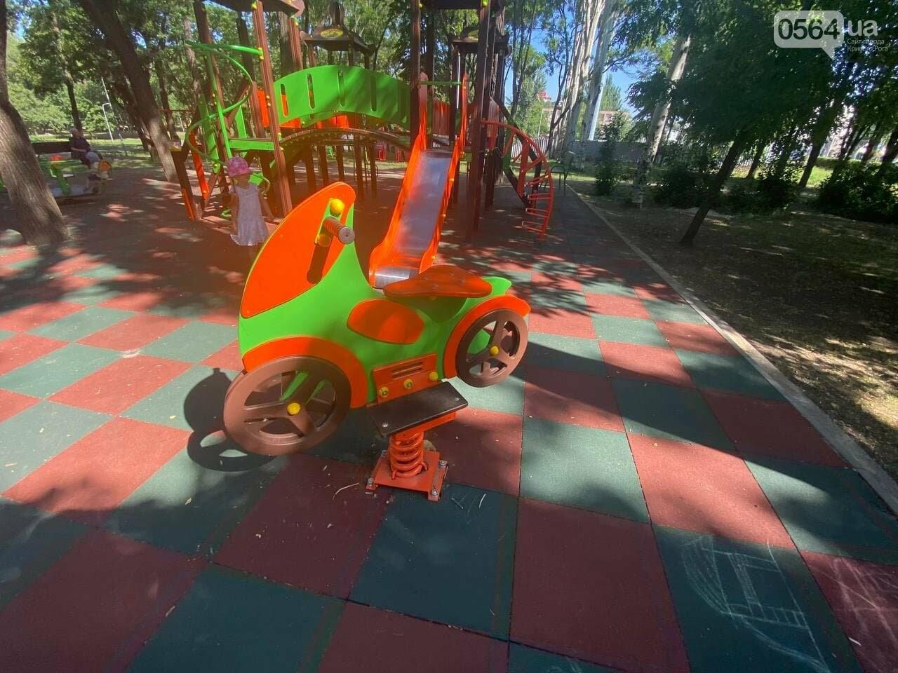 В Кривом Роге родители обсуждают безопасность новой детской площадки возле горисполкома, - ФОТО , фото-20