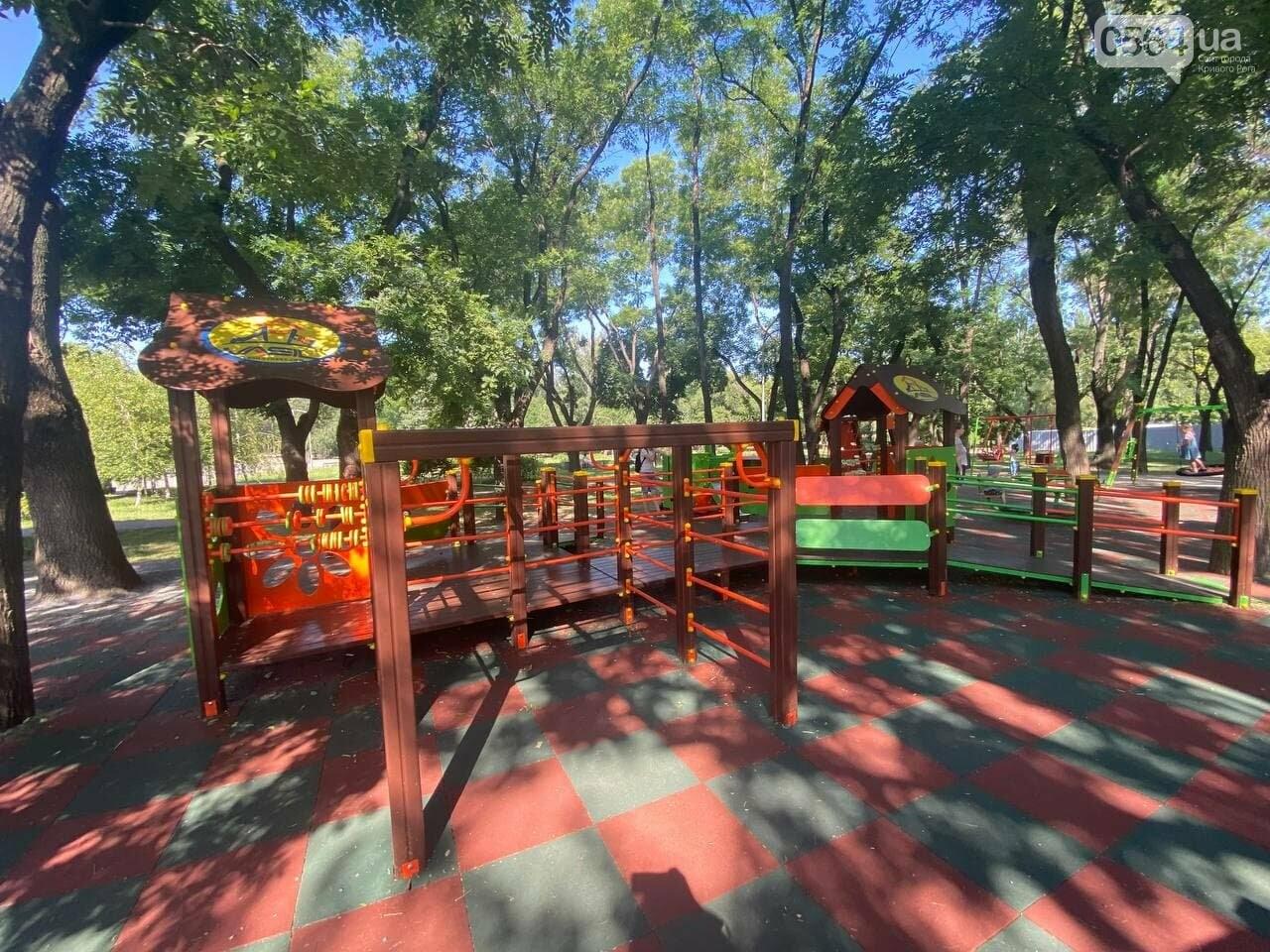 В Кривом Роге родители обсуждают безопасность новой детской площадки возле горисполкома, - ФОТО , фото-13