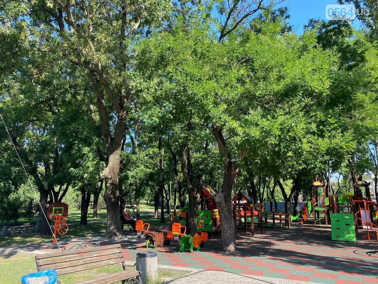 В Кривом Роге родители обсуждают безопасность новой детской площадки возле горисполкома, - ФОТО , фото-5