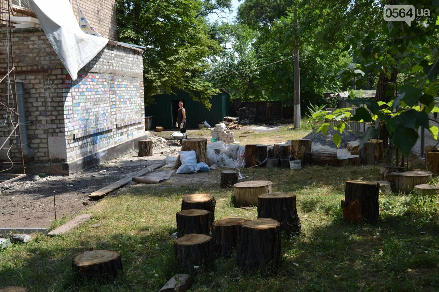 Криворожане продолжают трудиться над созданием уникального арт-пространства для детей и взрослых, - ФОТО, ВИДЕО, фото-27