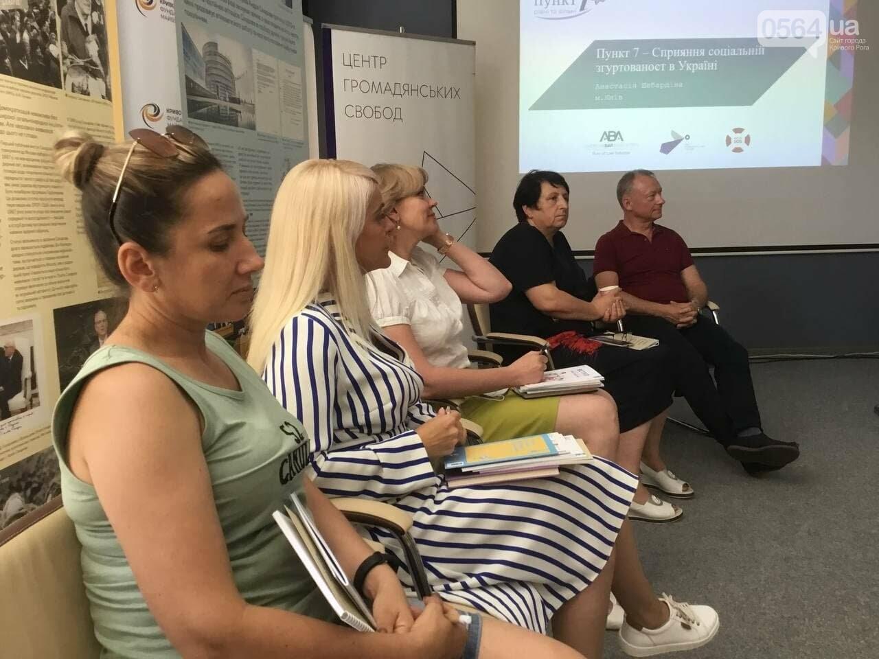 Правовой Weekend в Кривом Роге: правозащитники обсудили проблемы социальной сплочённости, - ФОТО, ВИДЕО, фото-2