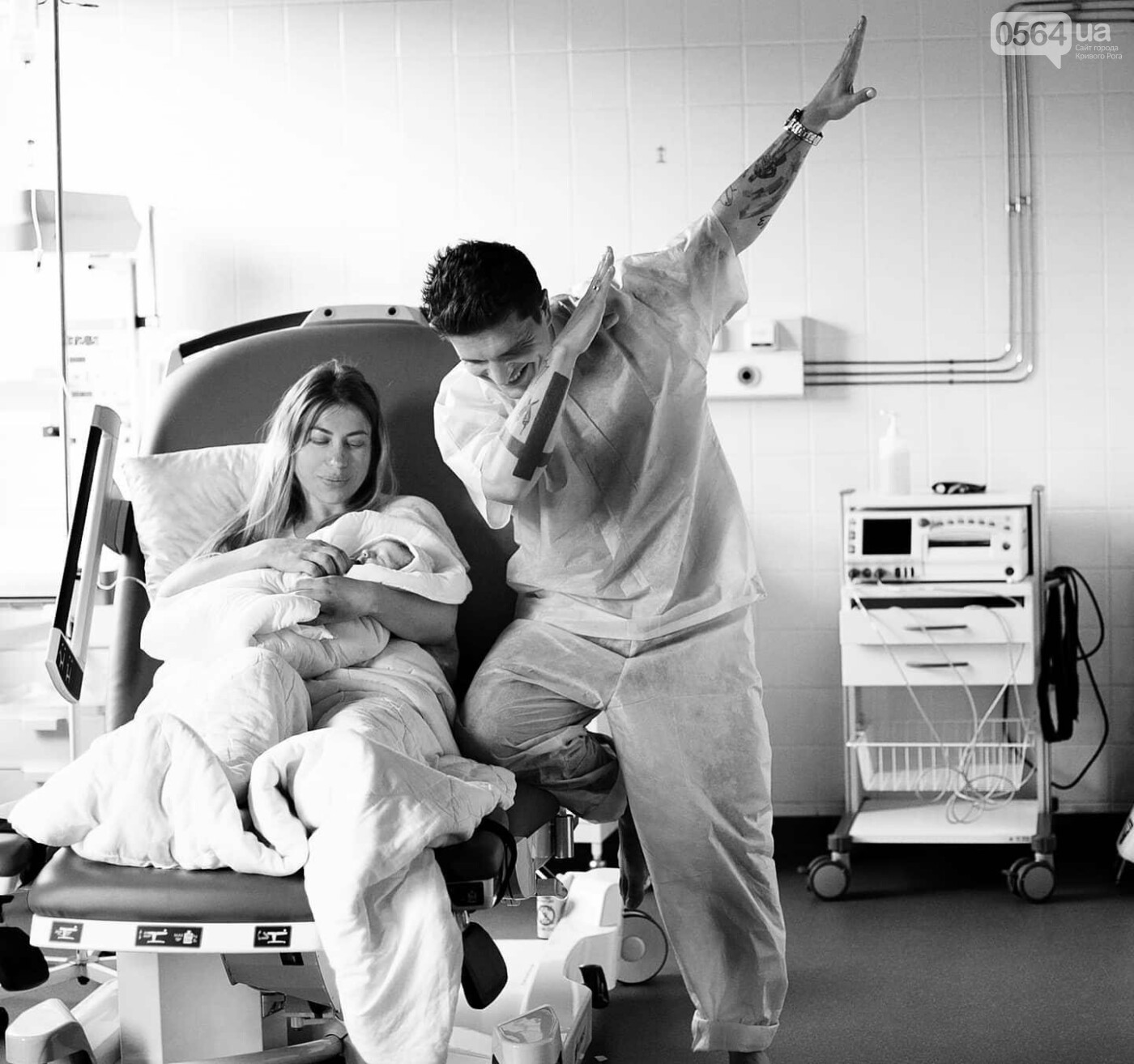 Знаменитый криворожанин стал отцом в третий раз, - ФОТО, фото-1
