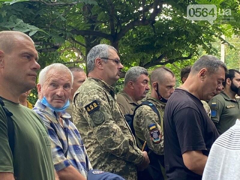 В Кривом Роге прощаются с погибшим Воином, - ФОТО, ВИДЕО, фото-12