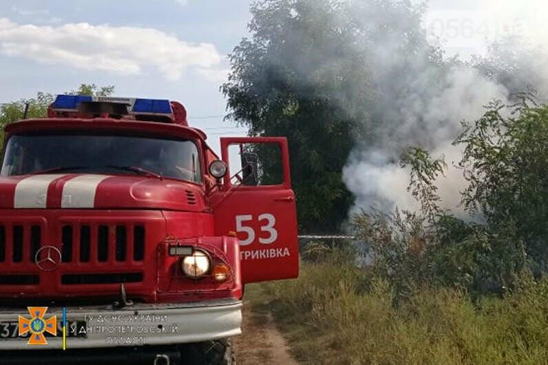 В Кривом Роге и Криворожском районе за сутки 14 раз горела сухая трава на открытой территории, - ФОТО , фото-4