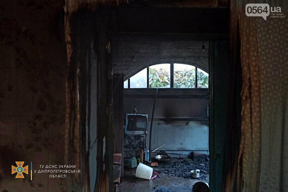 В Кривом Роге спасатели вынесли мужчину из горевшего дома, - ФОТО, фото-1