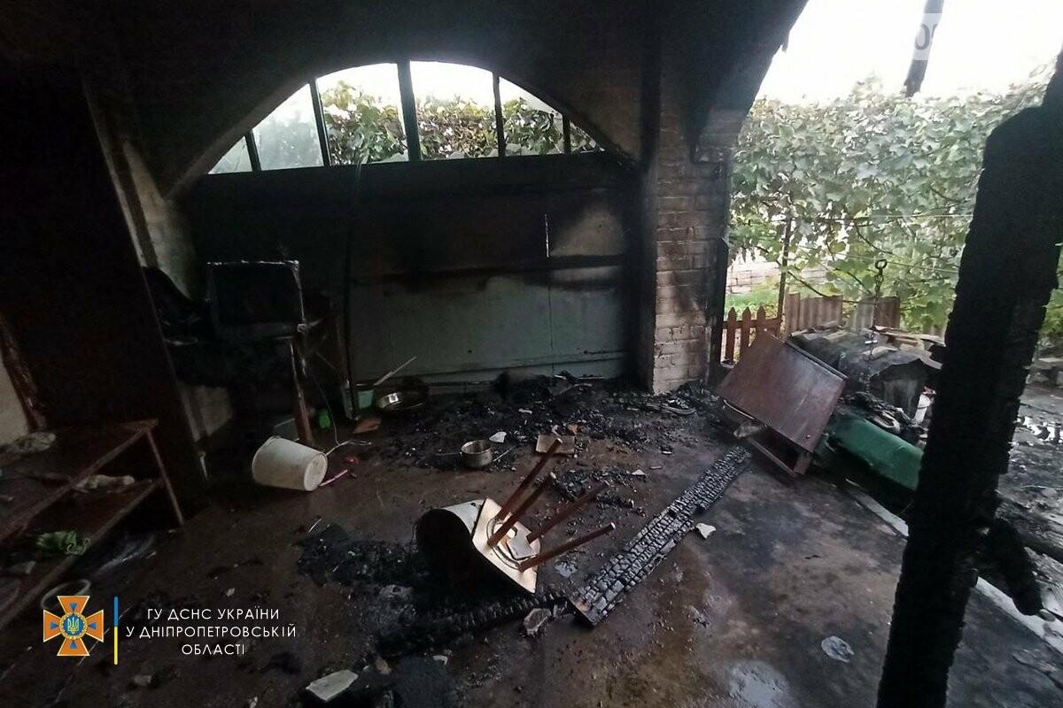 В Кривом Роге спасатели вынесли мужчину из горевшего дома, - ФОТО, фото-2