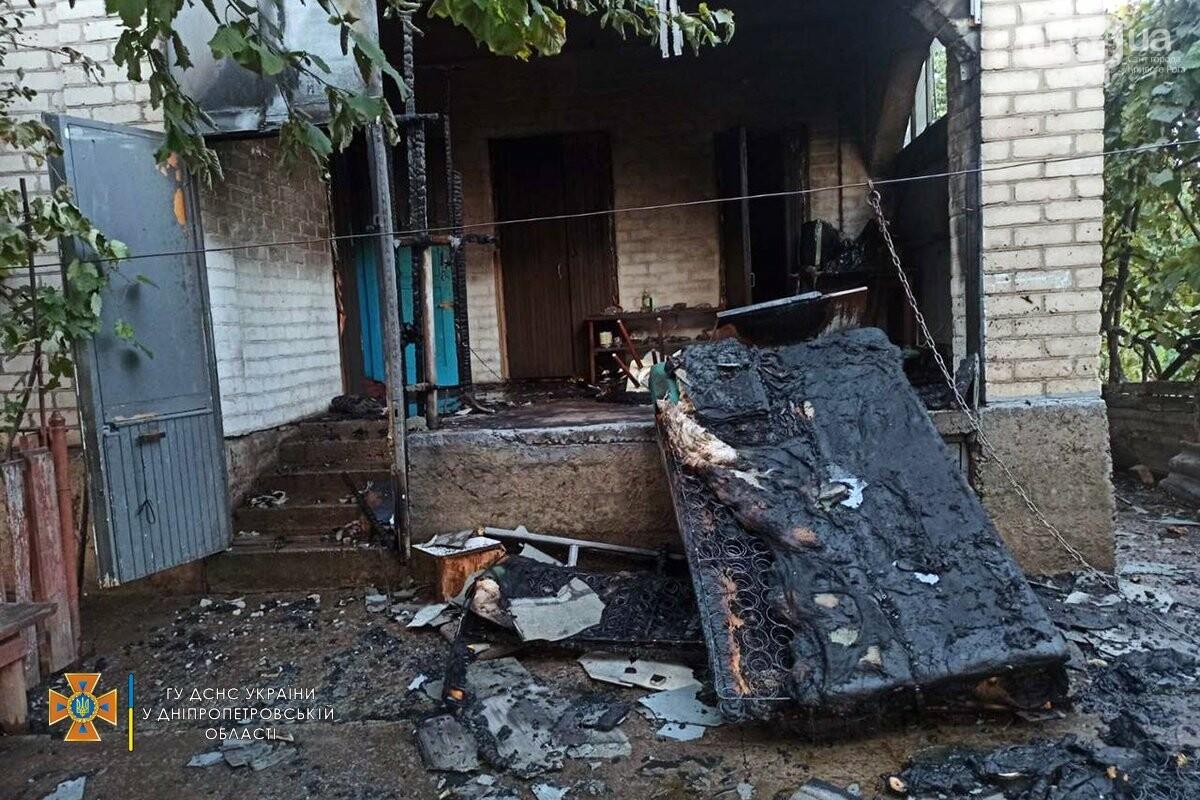 В Кривом Роге спасатели вынесли мужчину из горевшего дома, - ФОТО, фото-3