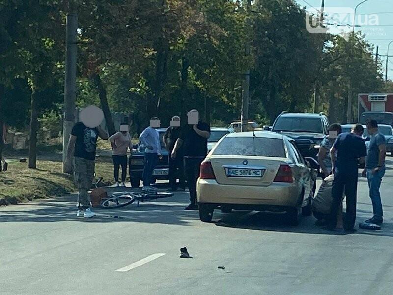 В Кривом Роге велосипедист угодил под колёса автомобиля, - ФОТО, фото-7