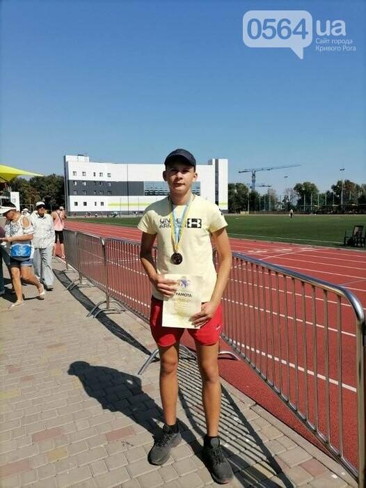 Криворожанин завоевал бронзу на областном чемпионате по легкой атлетике, - ФОТО, фото-1