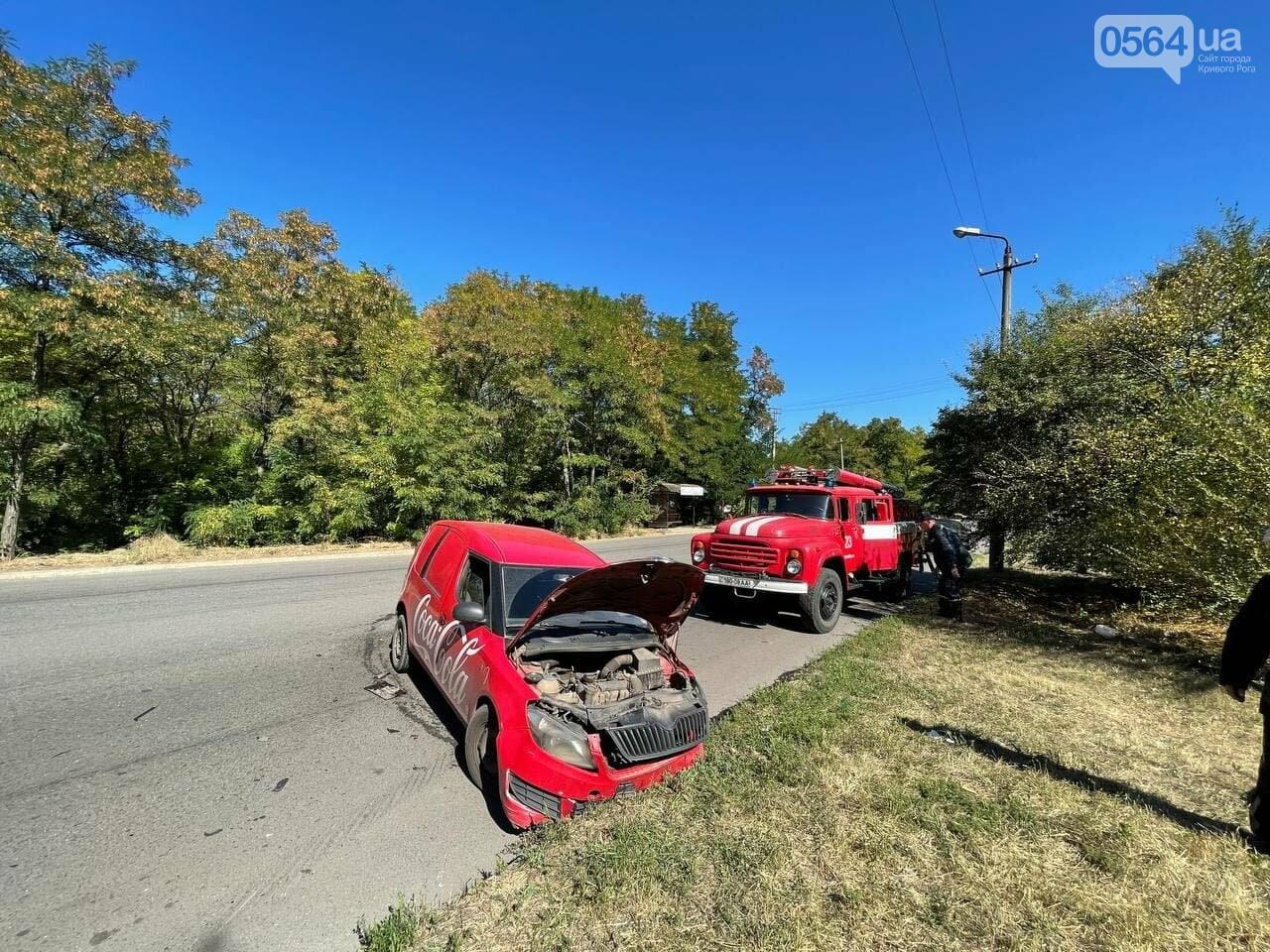 Два человека пострадали в аварии возле объездной дороги в Кривом Роге, - ФОТО, фото-5