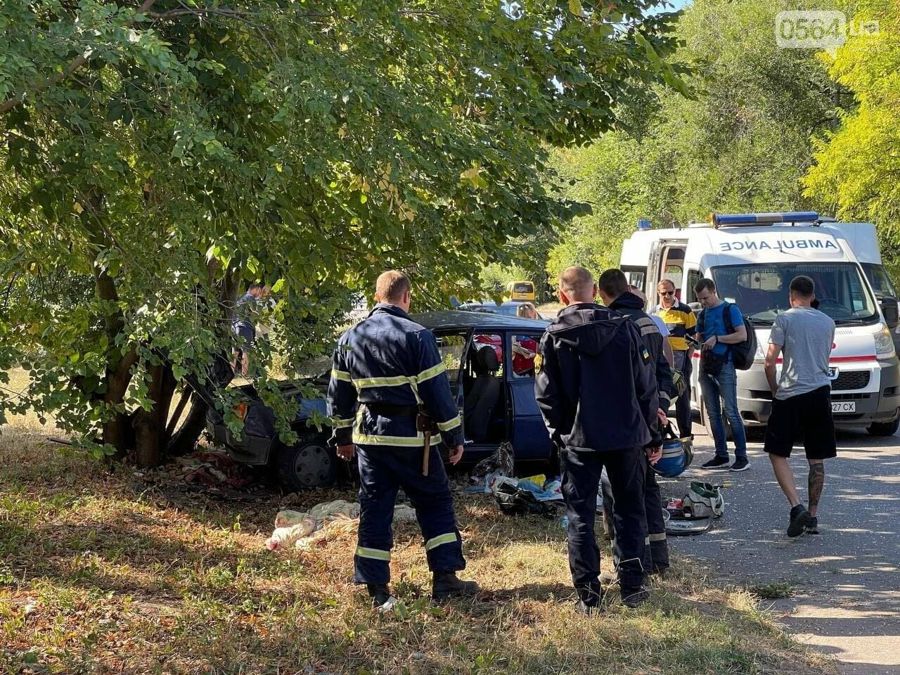 Два человека пострадали в аварии возле объездной дороги в Кривом Роге, - ФОТО, фото-6