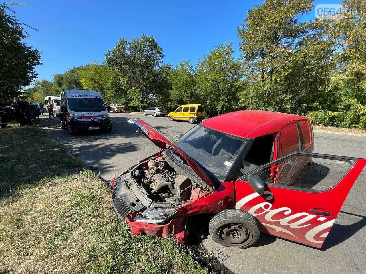 Два человека пострадали в аварии возле объездной дороги в Кривом Роге, - ФОТО, фото-7