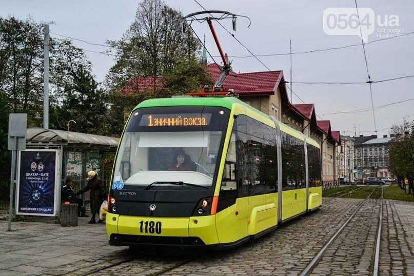 трамвай львов