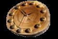 ФЛП Сапатый, Слэб,поперечные спилы деревьев, элемент декора