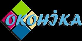Логотип - Оконика, металлопластиковые окна и двери в Кривом Роге