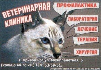 Логотип - Ветеринарная клиника. ЧП Козлова Светлана Сергеевна
