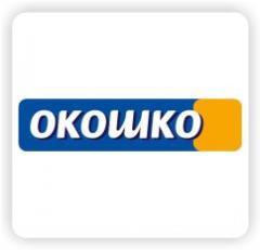 Логотип - Окошко - окна, двери межкомнатные, входные, утепление домов, ремонт под ключ