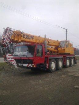 Логотип - Автокран KRUPP 50 тонн, вынос стрелы 35 метров