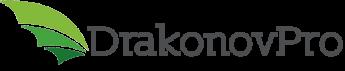 Логотип - Drakonov Pro - веб-студия, создание сайтов, разработка интернет-магазинов, ведение социальных сетей