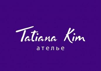 Логотип - Tatiana Kim  - Татьяна Ким - ателье авторского пошива