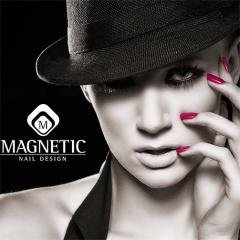 Логотип - Nail school & studio GS Magnetic nail Acadеmy