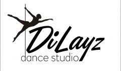 Логотип - Спортивно танцевальная школа DiLayz (пилон, фитнес, растяжка, воздушные полотна)