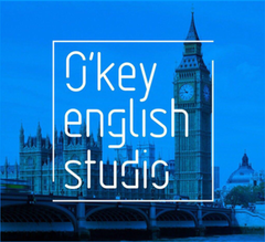 Логотип - Курсы / Репетитор / Школа Английского Языка - O'key English Studio