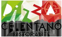 Логотип - Челентано, пицца, доставка еды
