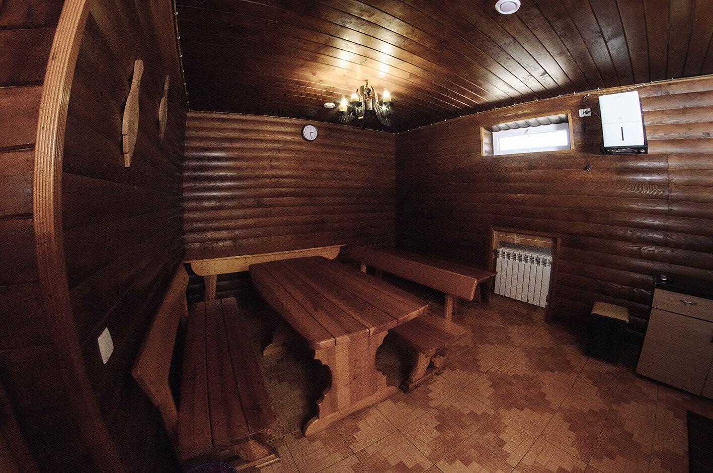 Баня на дровах с бассейном , фото-2