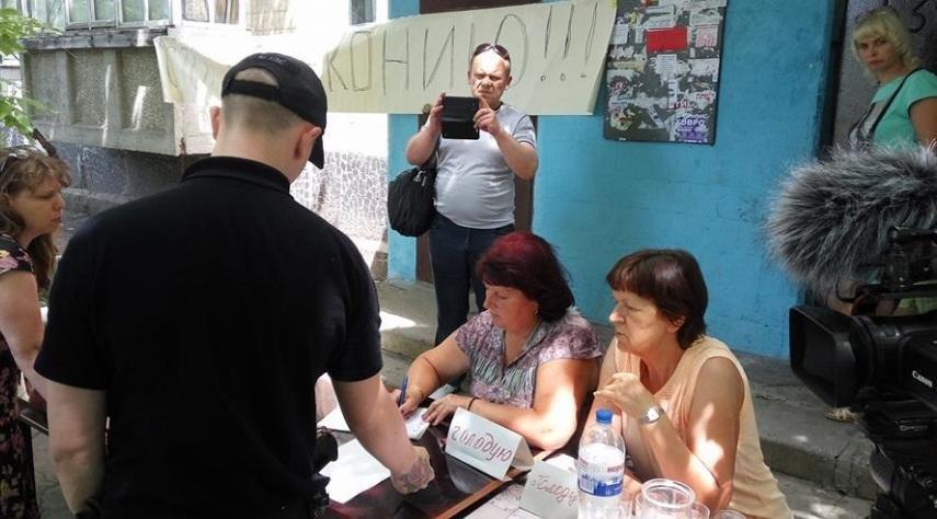 "В Кривом Роге в ""войне за газ"" люди объявили голодовку (ФОТО, ВИДЕО), фото-1"