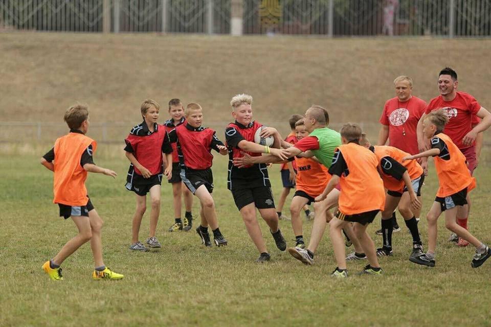 Профессиональные регбисты тренировали юных криворожан (ФОТО), фото-3