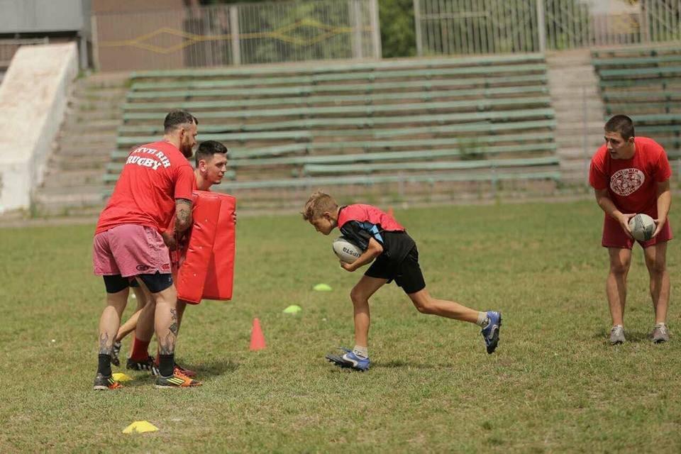 Профессиональные регбисты тренировали юных криворожан (ФОТО), фото-1