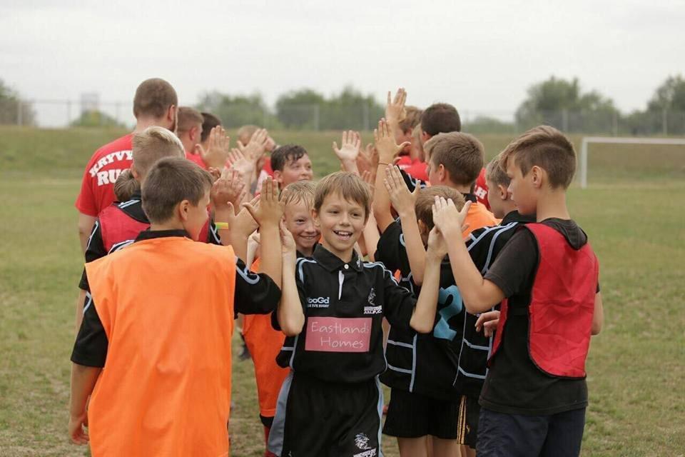 Профессиональные регбисты тренировали юных криворожан (ФОТО), фото-4